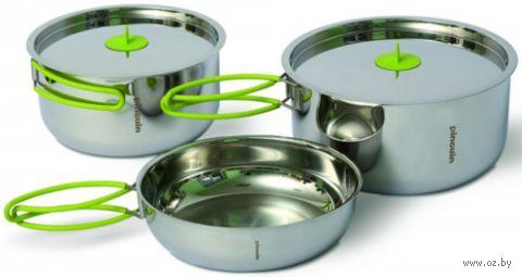 """Набор стальной посуды """"Duo steel L"""" — фото, картинка"""