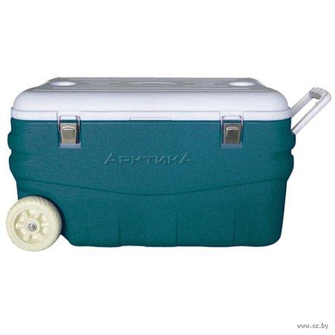 Изотермический контейнер 100 л (аквамариновый) — фото, картинка