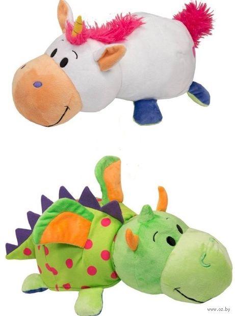 """Мягкая игрушка """"Вывернушка. Единорог-дракон"""" (40 см) — фото, картинка"""