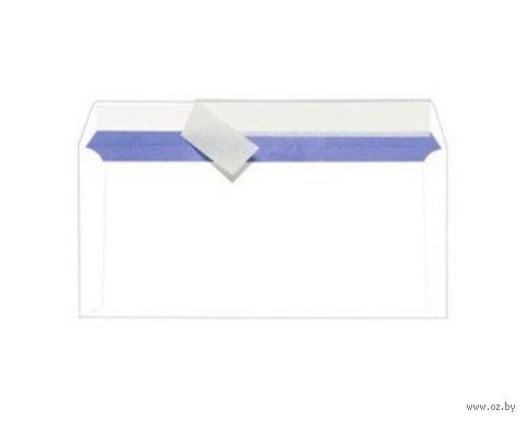 Конверты самоклеящиеся с отрывной лентой (DL; 110 x 220 мм; 100 штук)