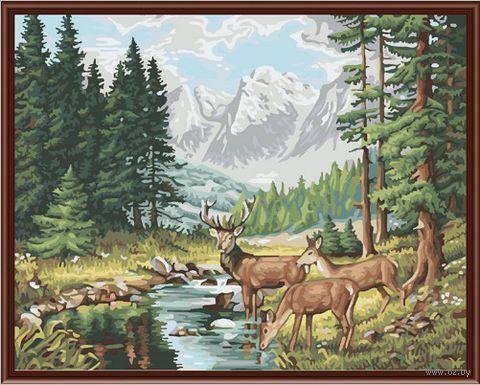 "Картина по номерам ""Идиллия в горах"" (400х500 мм)"