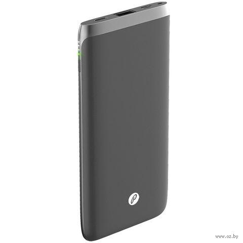 Портативное зарядное устройство Partner Q10 10000 mAh (серый) (038499) — фото, картинка