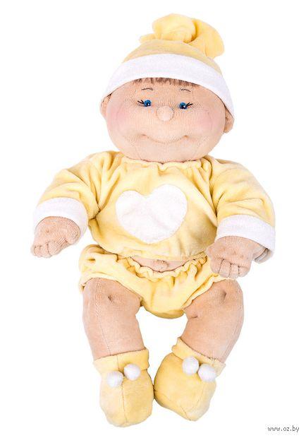 """Набор для шитья из велюра """"Малыш новорожденный"""" — фото, картинка"""
