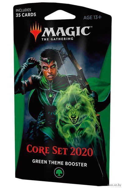 """Бустер """"Magic the Gathering. Базовый выпуск 2020. Зелёный"""" (35 карт) — фото, картинка"""