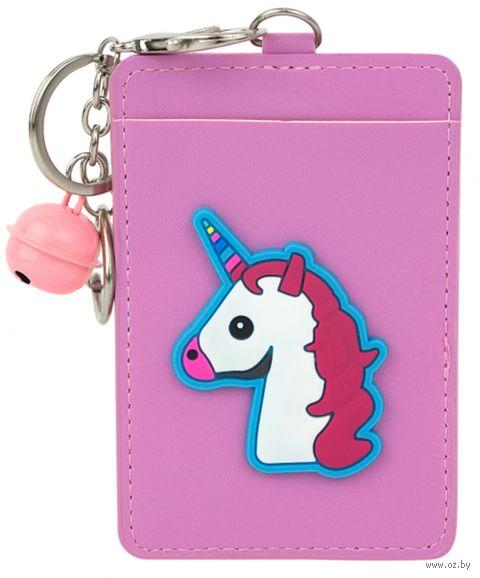 "Чехол для магнитной карты ""Emoji unicorn"" — фото, картинка"