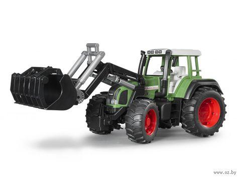 """Модель машины """"Трактор Fendt Favorit 926 Vario с погрузчиком"""" (масштаб: 1/16)"""