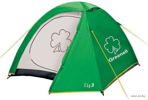 """Палатка """"Эльф 2 v.3"""" (зелёная) — фото, картинка"""