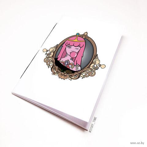 """Блокнот """"Время Приключений. Принцесса Бубльгум"""" (А5; арт. 278) — фото, картинка"""