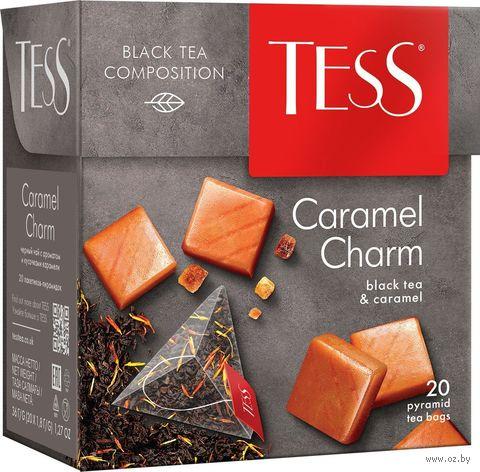 """Чай черный """"Tess. Caramel Charm"""" (20 пакетиков) — фото, картинка"""