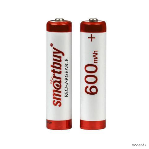 Аккумулятор NiMh Smartbuy AAA/2BL 600 mAh (2 шт.) — фото, картинка