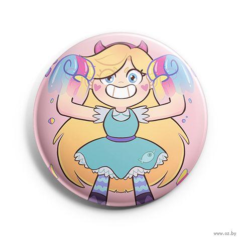 "Значок маленький ""Звёздная принцесса"" (арт. 239) — фото, картинка"