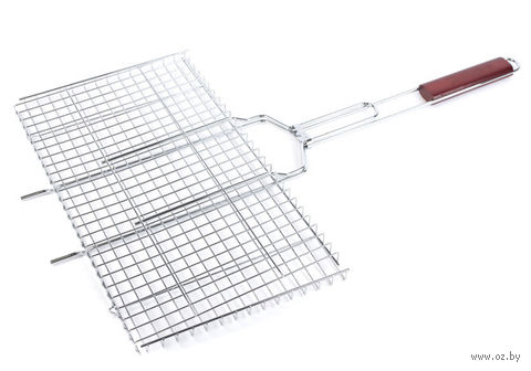 Решетка-гриль металлическая (26х45 см)