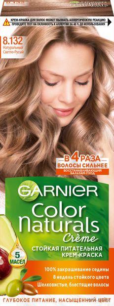 """Крем-краска для волос """"Color Naturals"""" (тон: 8.132, натуральный светло-русый) — фото, картинка"""