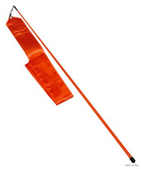 Лента для художественной гимнастики АВ228 (красная) — фото, картинка