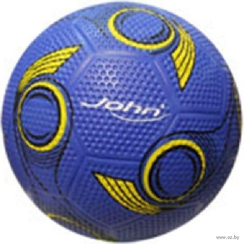 Мяч футбольный №5 (синий; арт. RC5-D3) — фото, картинка