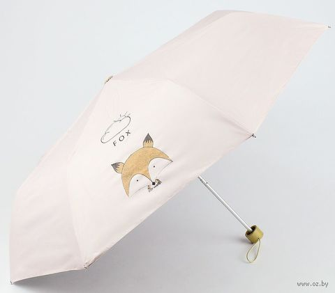 "Зонт ""Fox"" (розовый) — фото, картинка"