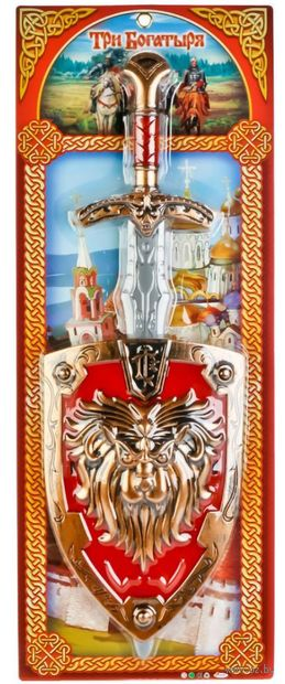 """Игровой набор """"Три богатыря"""" (арт. B1503940-R) — фото, картинка"""
