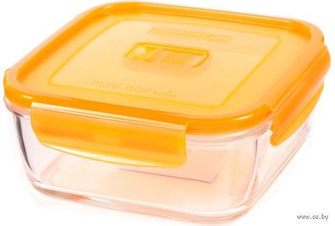 """Контейнер для еды """"Purebox Active Neon"""" (0,38 л; оранжевый) — фото, картинка"""