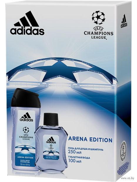 """Подарочный набор """"UEFA Arena"""" (туалетная вода, гель для душа) — фото, картинка"""