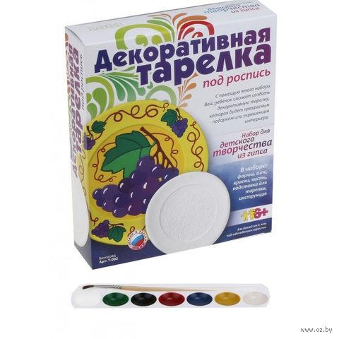 "Набор для росписи тарелки ""Виноград"" — фото, картинка"