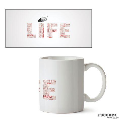 """Кружка """"Life"""" (арт. 397)"""