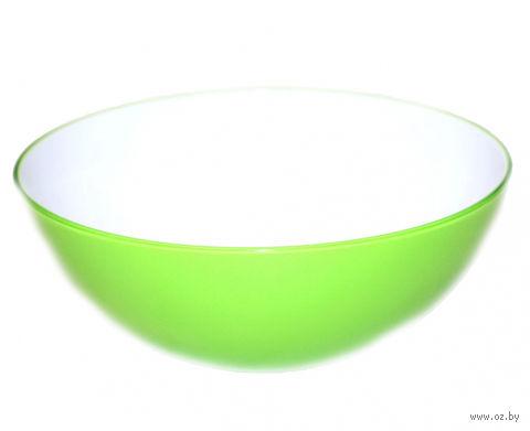 Миска пластмассовая (1,5 л; зеленая) — фото, картинка