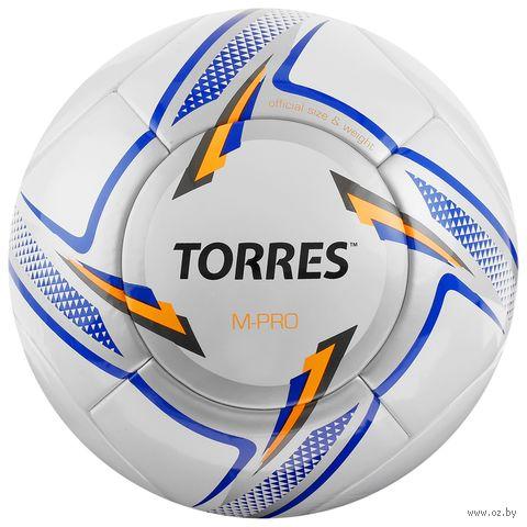 """Мяч футбольный Torres """"M-Pro White"""" №5 — фото, картинка"""