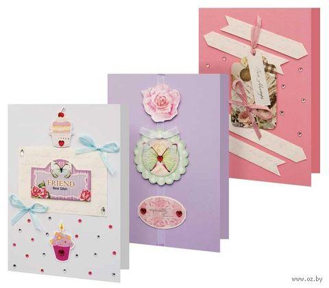 """Набор для изготовления открытки """"Сонет"""" — фото, картинка"""