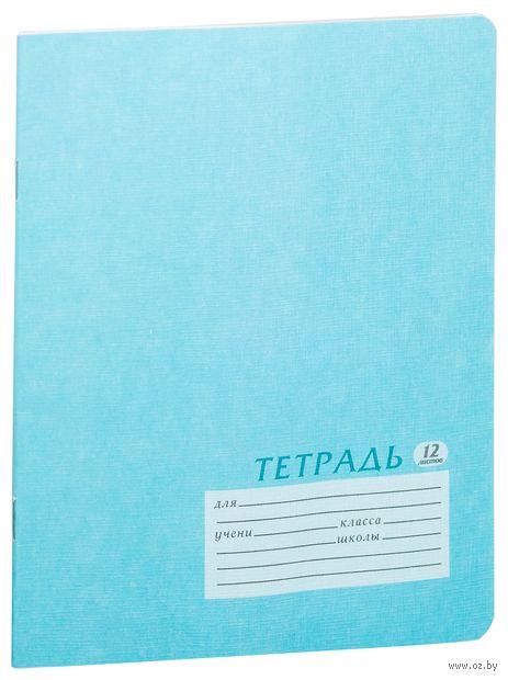 """Тетрадь в клетку """"Academy Style"""" (12 листов; в ассортименте)"""