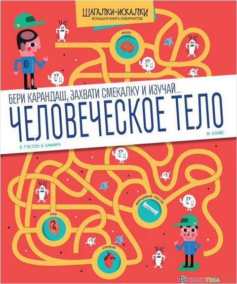 Человеческое тело. Большая книга лабиринтов — фото, картинка