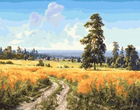"Картина по номерам ""Шишкин. Рожь"" (400х500 мм) — фото, картинка"