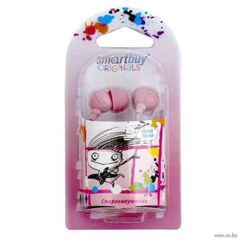 Наушники SmartBuy COLOR TREND (Pink)