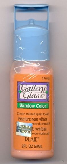 "Краска по стеклу ""Gallery Glass"" (персик; 59 мл; PLD-17045)"