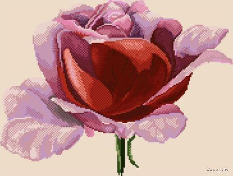 "Алмазная вышивка-мозаика ""Роза в алмазах"""