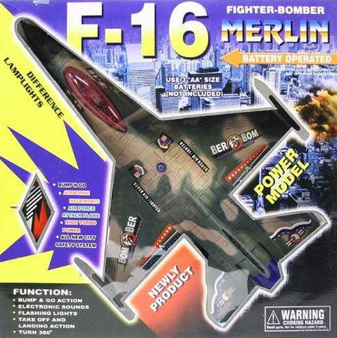 """Игрушка """"Самолет Бомбардировщик Merlin F-16"""""""