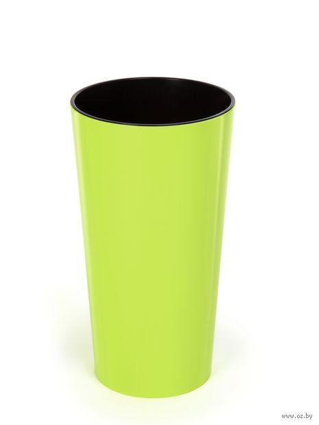 "Кашпо ""Lilia"" (12,5 см; лимонное) — фото, картинка"