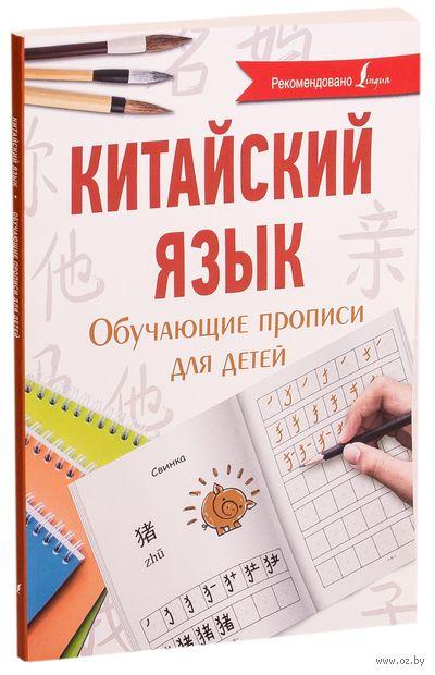 Китайский язык. Обучающие прописи для детей — фото, картинка