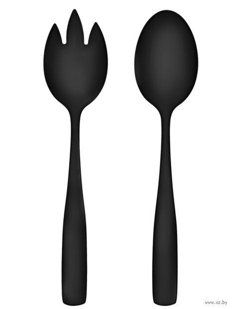 Набор кухонных инструментов (2 предмета; черный) — фото, картинка
