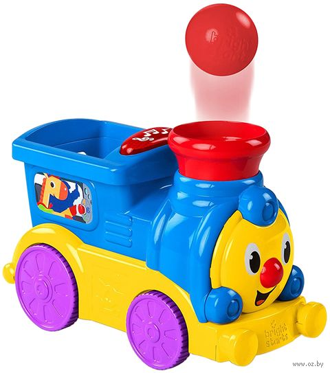 """Интерактивная игрушка """"Весёлый паровозик с мячиками"""" — фото, картинка"""
