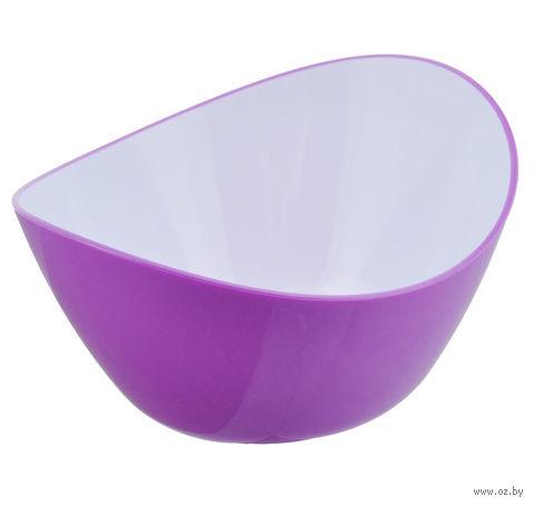 Миска пластмассовая (1,2 л; фиолетовая) — фото, картинка