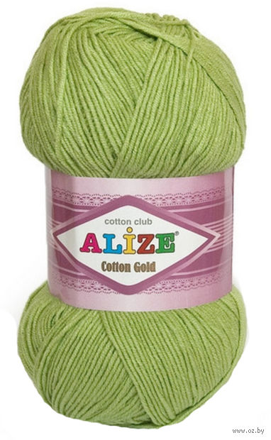 "Пряжа ""ALIZE. Cotton Gold №385"" (100 г; 330 м) — фото, картинка"