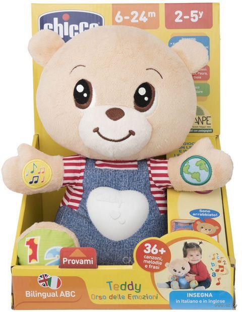 """Мягкая интерактивная игрушка """"Teddy Emotion"""" (со световыми эффектами) — фото, картинка"""