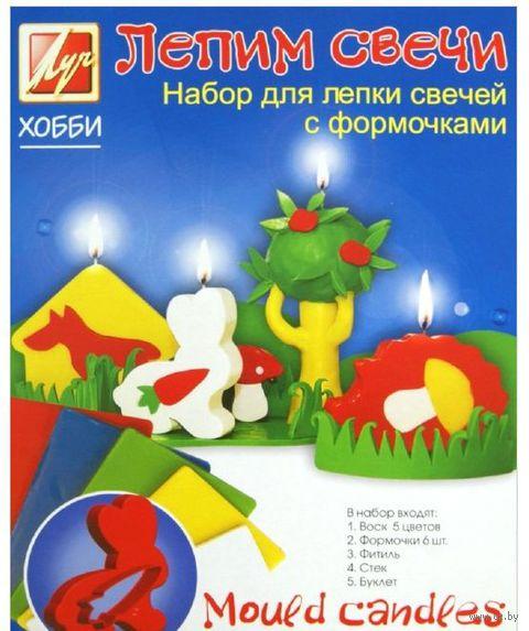 """Набор для изготовления свечей """"Лепим свечи"""" (с формочками)"""