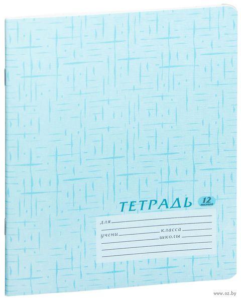 """Тетрадь в линейку """"Academy Style"""" 12 листов"""