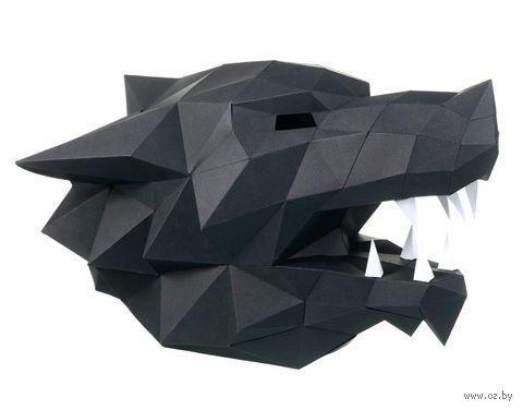 """3D-конструктор """"Маска Волк"""" (чёрный) — фото, картинка"""