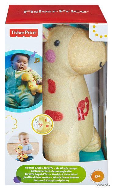 """Мягкая музыкальная игрушка """"Ночник. Жираф"""" (со световыми и звуковым эффектами) — фото, картинка"""