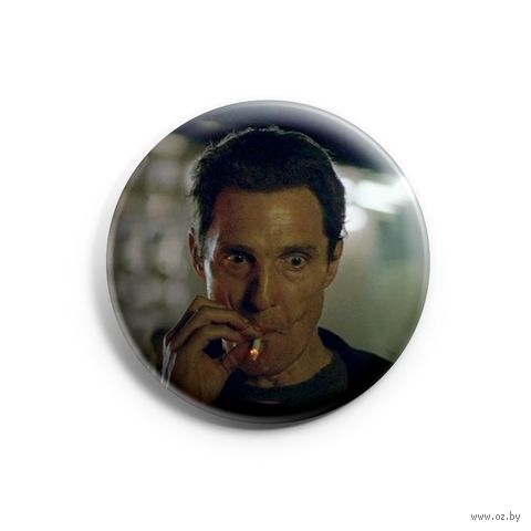 """Значок маленький """"Настоящий детектив"""" (арт. 824) — фото, картинка"""