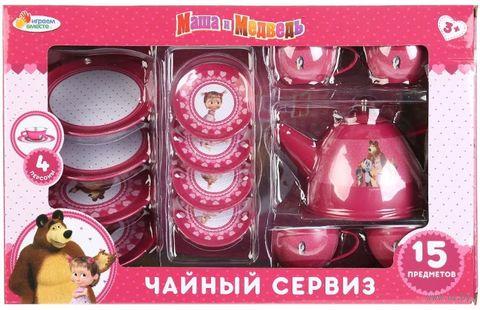 """Игровой набор """"Маша и Медведь. Чайный сервиз"""" — фото, картинка"""
