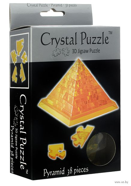 """Пазл """"3D. Пирамида"""" (38 элементов) — фото, картинка"""