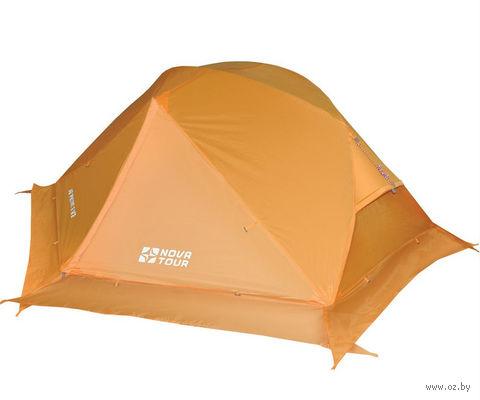 """Палатка """"Ай Петри 2 v.2"""" (оранжевая) — фото, картинка"""